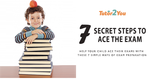 7 secret steps to ace the exam - exam preparation | Tutor2you
