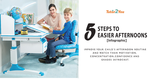 5 steps to easier afternoons - featured image | Tutor2you