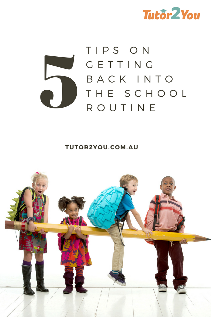 Tips on Getting Back into the School Routine After Break| Tutor2You