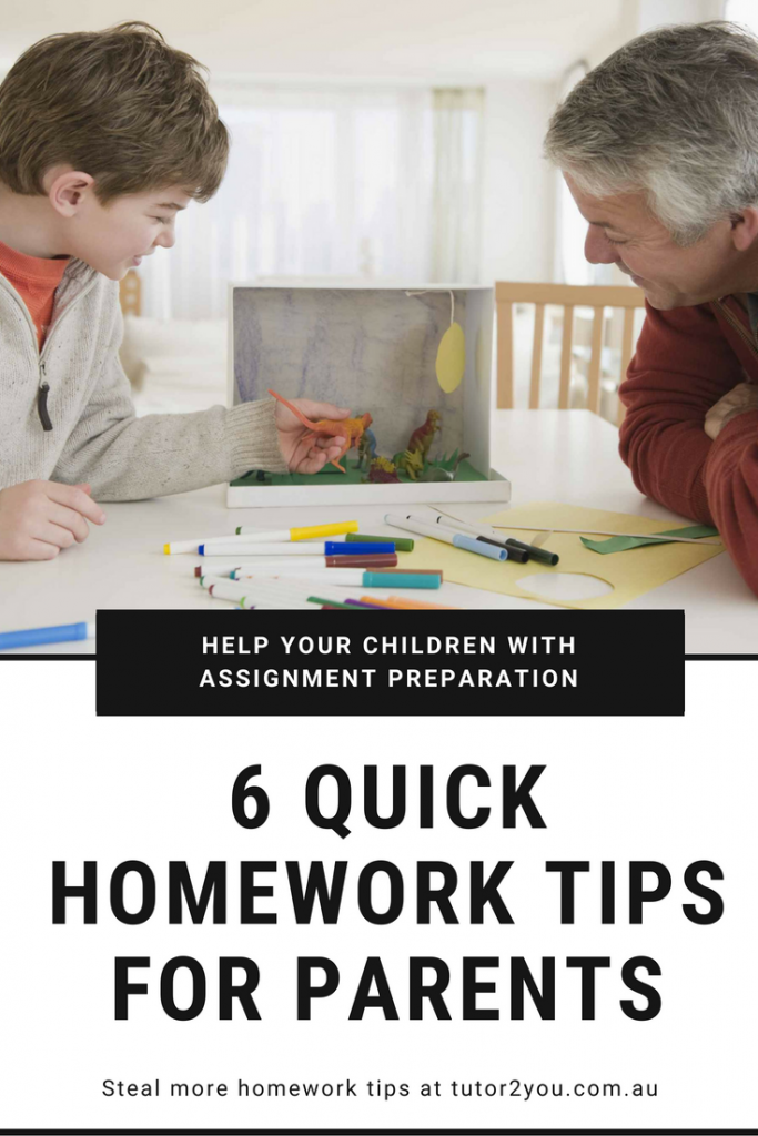 6 quick homework tips for parents | Tutor2You