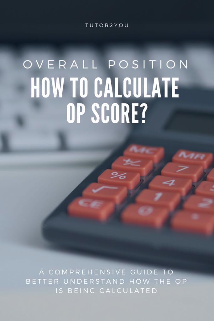 How to calculate OP Score   Tutor2you