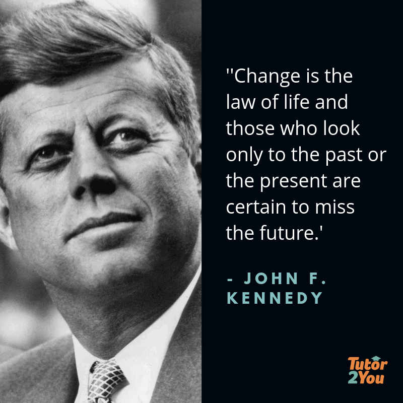 Phasing out OP Scores - Change is the law of life and those who look only to the past or the present are certain to miss the future. - John F Kennedy | Tutor2you