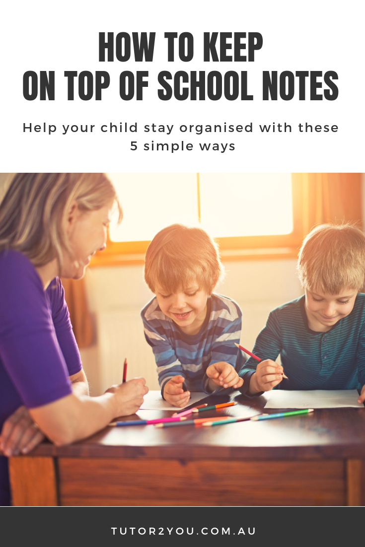 How to keep on of school notes - 5 Simple Ways | Tutor2you