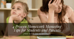 proven homework managing tips for students and parents - featured image - tutor2you