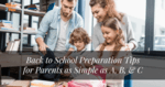 back to school preparation tips for parents - featured image