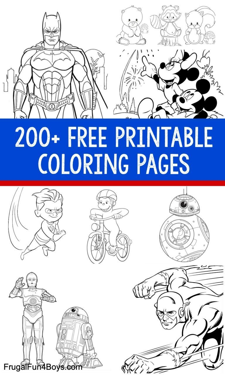 free tools & resources to support remote learning 200+ printable colouring pages for kids boys and girls