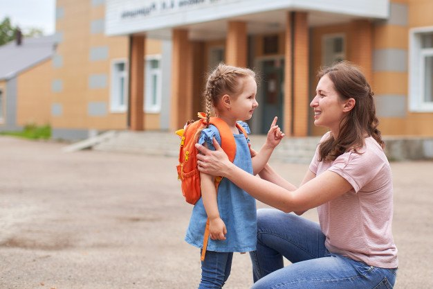 boost child confidence with parental encouragement - getting back into school