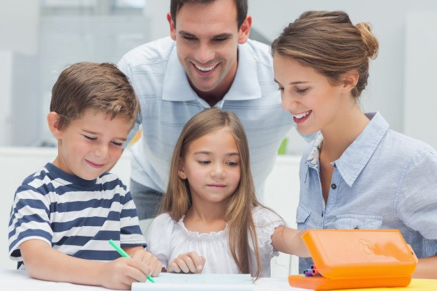 make it a family affair - getting back into the school routine