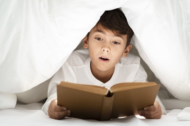 revision tips during holidays - build-in some daily reading time
