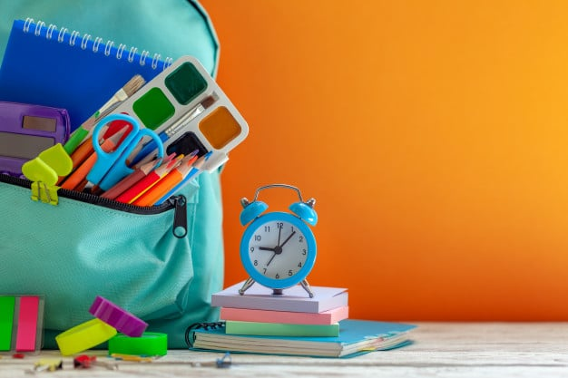review stationery supplies - preparing for term 4